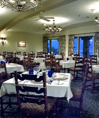 Furnace Creek Inn dining room