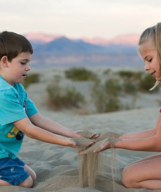 Death Valley Dunes Kids 2