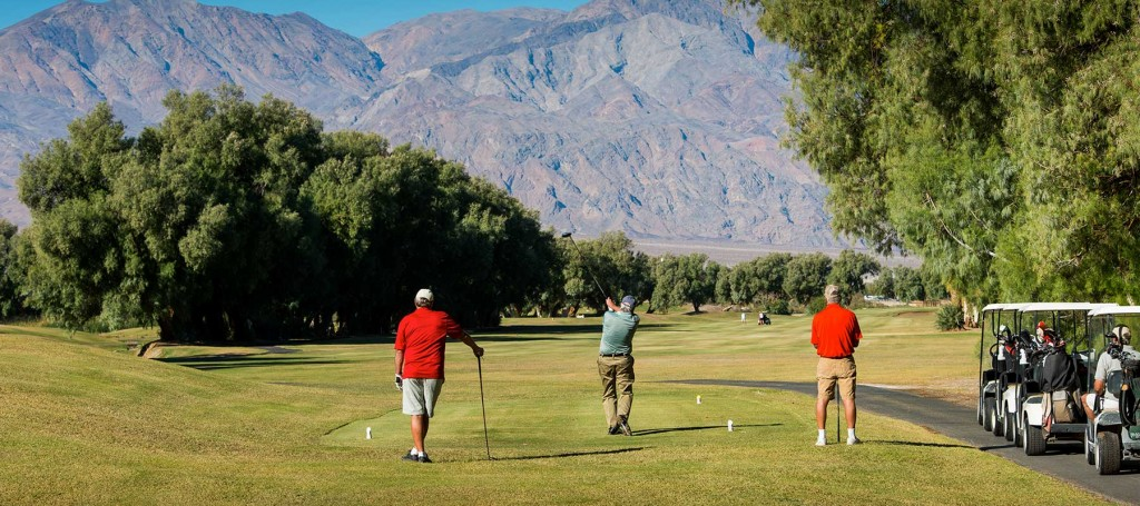 Death Valley Golfing