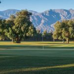 Hole 2 at Furnace Creek Golf Course