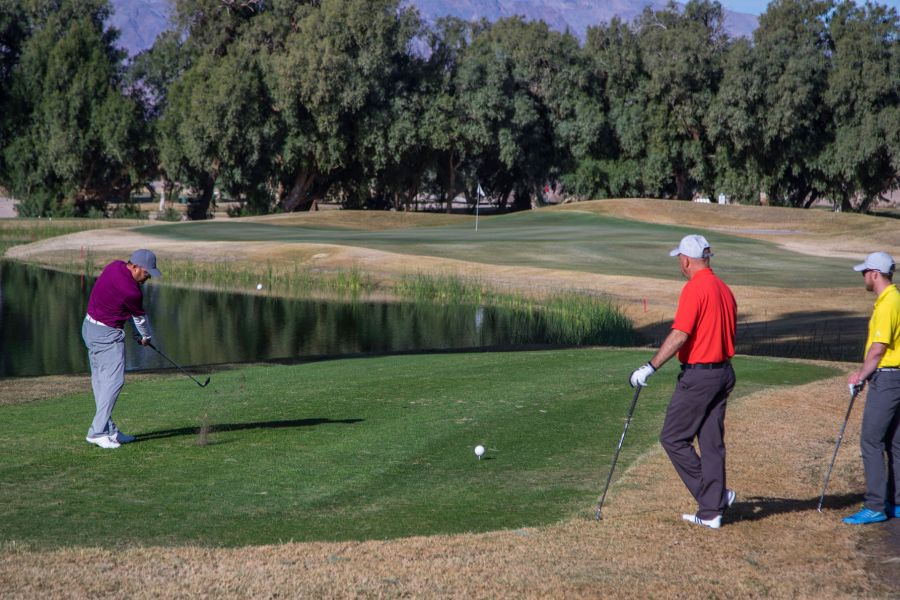 Furnace Creek Golf Course at Death Valley
